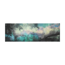 Watercolor Cityscape Canvas Print