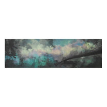 Watercolor Cityscape Panel Wall Art