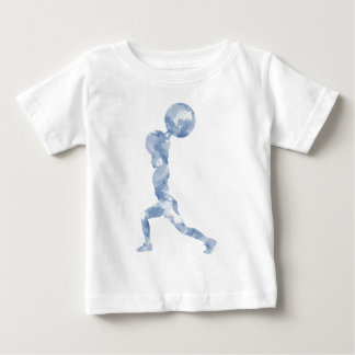 Watercolor Clean & Jerk in Blue Baby T-Shirt