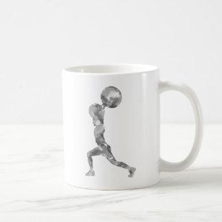 Watercolor Clean & Jerk in Grey Coffee Mug