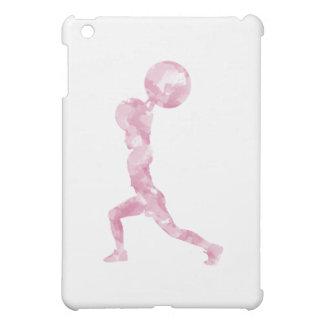 Watercolor Clean & Jerk in Pink iPad Mini Case