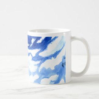 Watercolor Clouds Coffee Mug