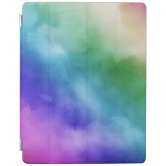 Watercolor Clouds in Rainbow Hues iPad Smart Cover