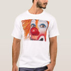 Watercolor Clown #10 by Patty Vicknair T-Shirt