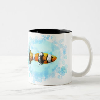 Watercolor Clownfish Mug