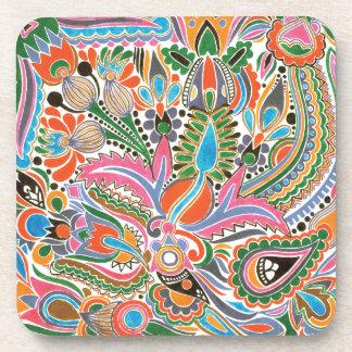 Watercolor Coaster