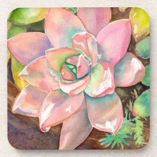 Watercolor coasters by Debra Lee Baldwin