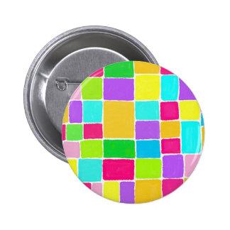 Watercolor Composition Pinback Button