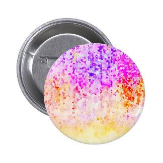 Watercolor Confetti Pinback Button