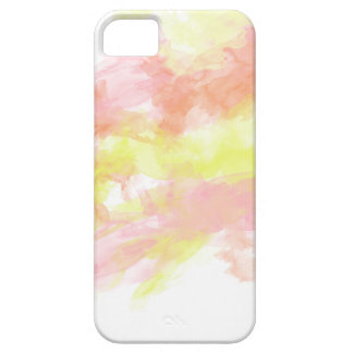 Watercolor Coral Pink Orange Iphone Case iPhone 5 Cover
