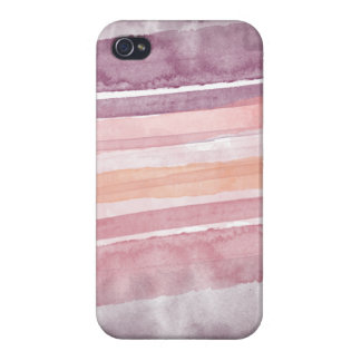 Watercolor Coral Pink Orange Purple Iphone Case iPhone 4/4S Cover