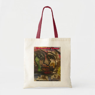 WATERCOLOR COVER TOTE BAG