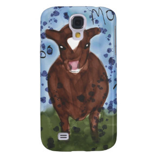 Watercolor Cow Painting Galaxy S4 Case