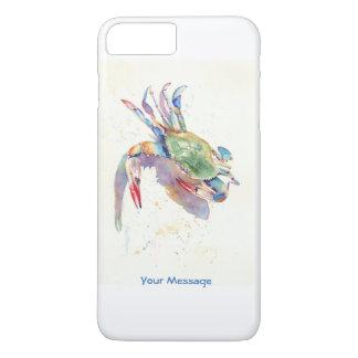 Watercolor Crab iPhone 8 Plus/7 Plus Case