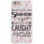 Watercolor Cross with Christian Quote Case Barely There iPhone 6 Plus Case