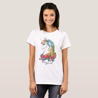 Watercolor cute rainbow unicorn T-Shirt