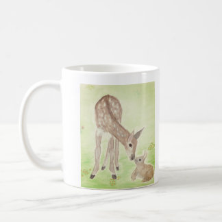 Watercolor Deer Mug