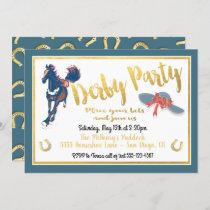 Watercolor Derby Horse Racing Party Invitation