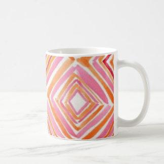 Watercolor Diamonds Coffee Mug