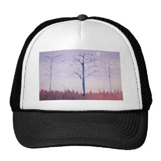 Watercolor Dusk Trucker Hat
