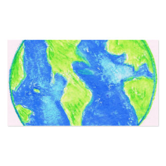 WATERCOLOR EARTH BUSINESS CARD