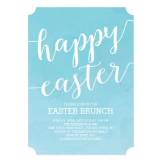 Easter Brunch Invitations