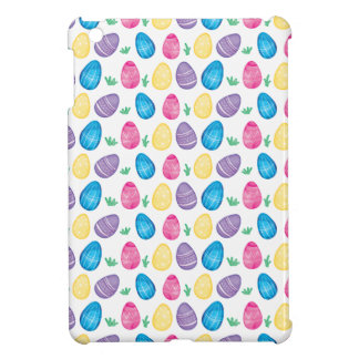 Watercolor Easter Egg Hunt Pattern Case For The iPad Mini
