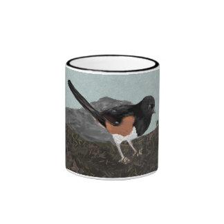 Watercolor Eastern Towhee Mug