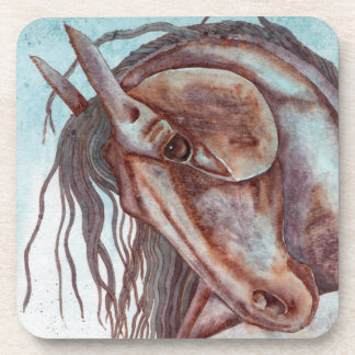 Watercolor Equine Art Coaster