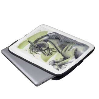 Watercolor Equine Art Laptop Sleeve