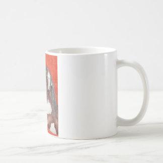 Watercolor Equine Art Coffee Mugs