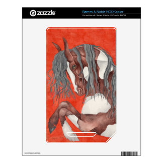 Watercolor Equine Art Skins For The NOOK Color