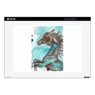 Watercolor Equine Art Skin For Laptop