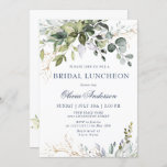 """Watercolor Eucalyptus Greenery BRIDAL LUNCHEON Invitation<br><div class=""""desc"""">Create the perfect BRIDAL LUNCHEON invite with this """"Watercolor Eucalyptus Greenery"""" template. This high-quality design is easy to customize to match your wedding colors, styles and theme. For further customization, please click the """"customize further"""" link and use our design tool to modify this template. If you need help or matching...</div>"""