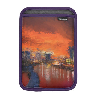 Watercolor Evening Sleeve For iPad Mini
