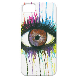 Watercolor Eye iPhone 5 Cases