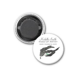 Watercolor eyes lash extension makeup branding magnet