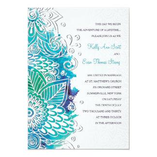Watercolor Fantasy Invitation