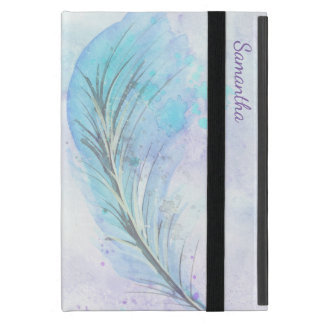 Watercolor Feather iPad Mini Case