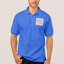 Watercolor Feathers Men's Polo T-Shirt
