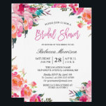 "Watercolor Floral Botanical Wreath Bridal Shower Card<br><div class=""desc"">================= ABOUT THIS DESIGN ================= Watercolor Floral Botanical Spring Bridal Shower Invitation. (1) For further customization, please click the &quot;Customize&quot; button and use our design tool to modify this template. (2) If you prefer thicker papers, you may consider to choose the Matte Paper Type. (3) If you need help or...</div>"