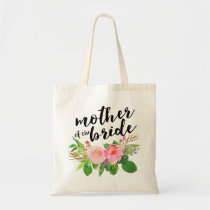 Watercolor Floral Bouquet|Mother of the Bride Tote Bag