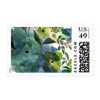 Watercolor Floral Bridal Shower Stamp