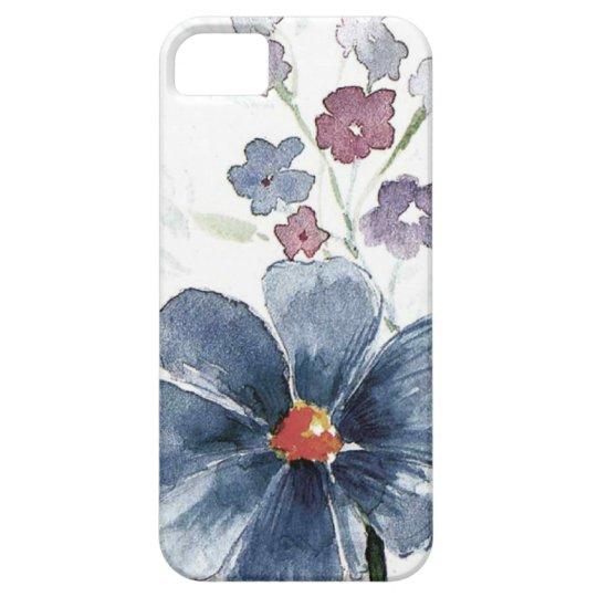 watercolor floral iPhone SE/5/5s case