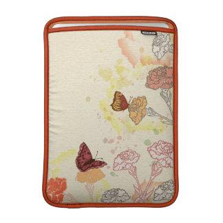 Watercolor Floral Macbook Air Sleeve