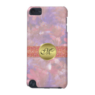 Watercolor Floral Monogram iPod Touch 5G Case