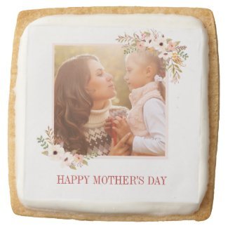 Watercolor Floral Mother's Day Cookies
