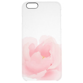 Watercolor Floral Peony Clear iPhone 6/6s Case
