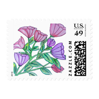 Watercolor Floral Stamp