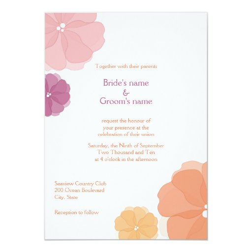 How To Make Watercolor Wedding Invitations as good invitations sample